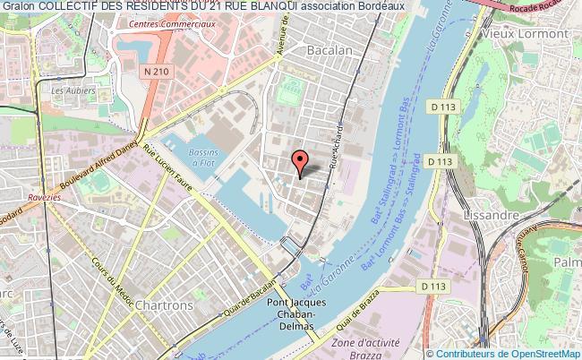 plan association Collectif Des RÉsidents Du 21 Rue Blanqui