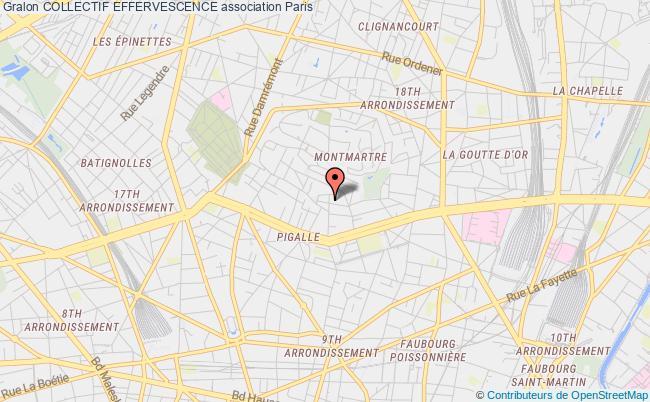 plan association Collectif Effervescence Montrouge