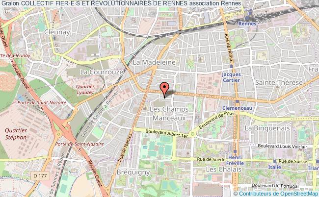 plan association Collectif Fier·e·s Et RÉvolutionnaires De Rennes Rennes