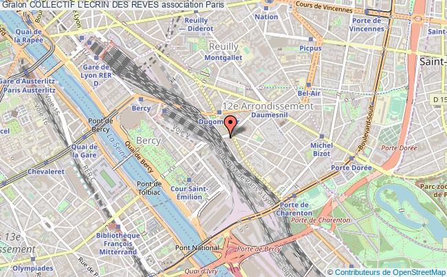 plan association Collectif L'ecrin Des Reves