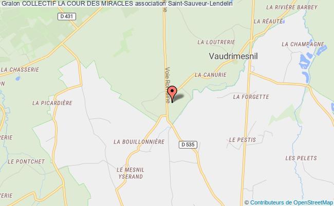plan association Collectif La Cour Des Miracles