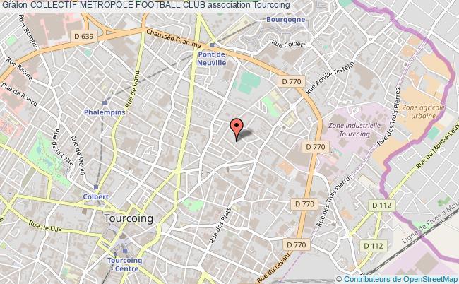 plan association Collectif Metropole Football Club Tourcoing