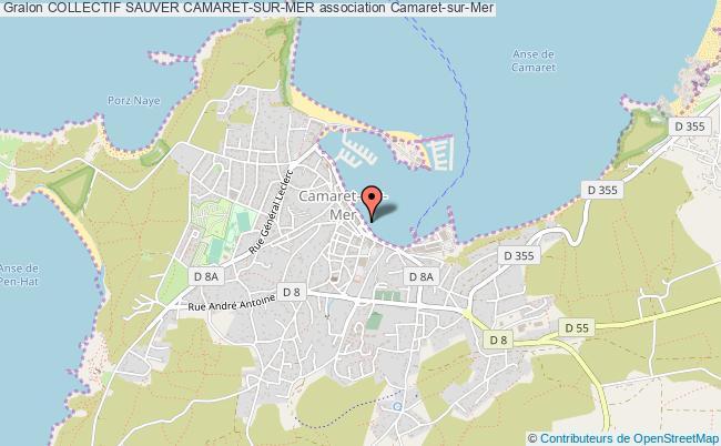 plan association Collectif Sauver Camaret-sur-mer