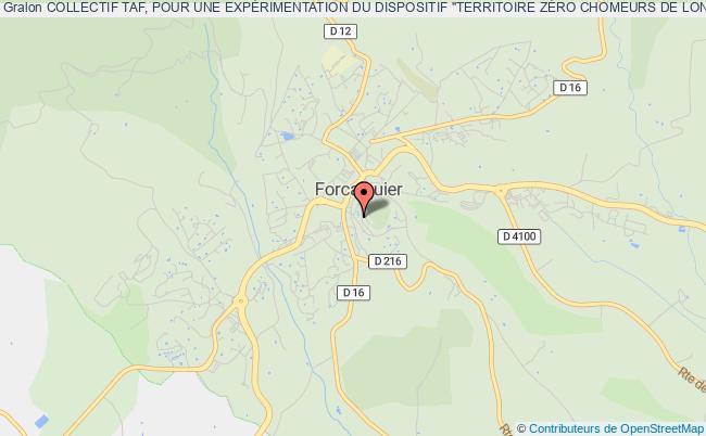"""plan association Collectif Taf, Pour Une ExpÉrimentation Du Dispositif """"territoire ZÉro Chomeurs De Longue DurÉe"""" En Haute-provence."""