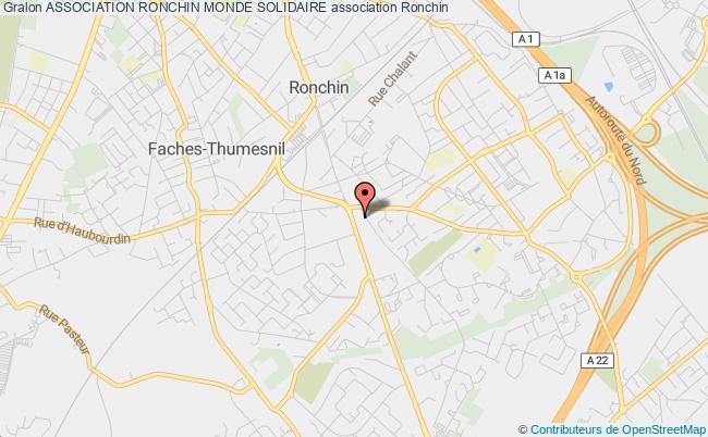 plan association Collectif Tiers Monde De Ronchin Ronchin