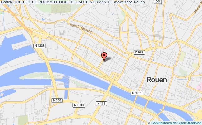 plan association CollÈge De Rhumatologie De Haute-normandie Rouen