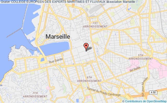 plan association College Europeen Des Experts Maritimes Et Fluviaux Marseille 1