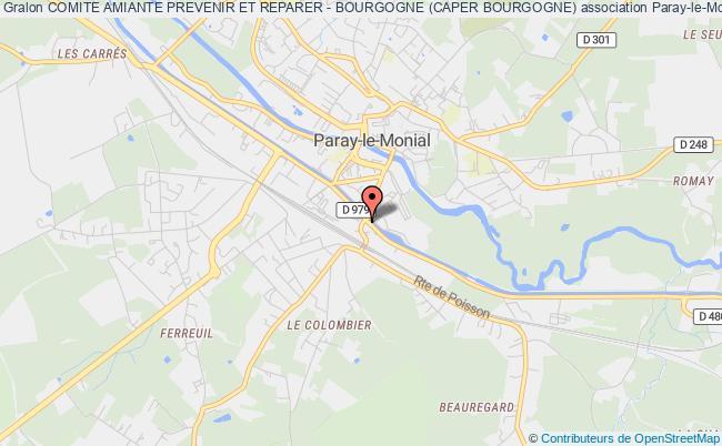 plan association Comite Amiante Prevenir Et Reparer - Bourgogne (caper Bourgogne)