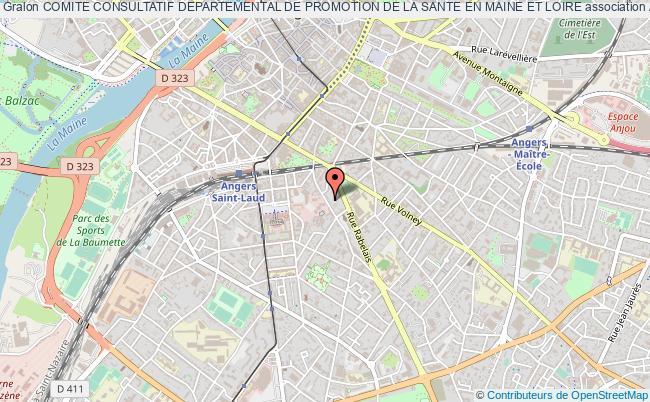plan association Comite Consultatif Departemental De Promotion De La Sante En Maine Et Loire