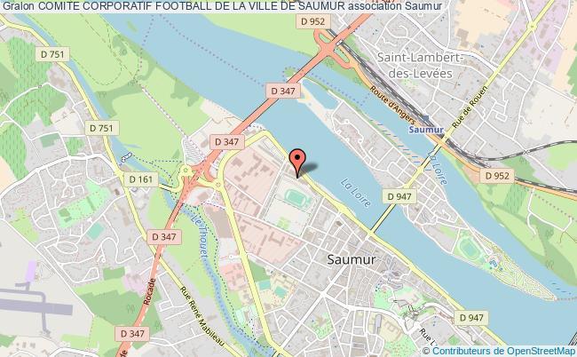 plan association Comite Corporatif Football De La Ville De Saumur