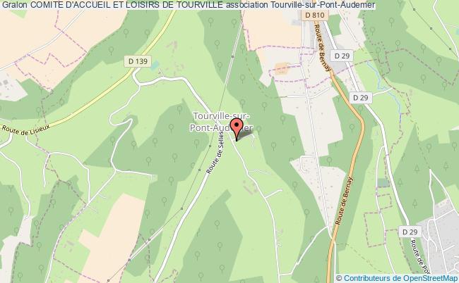 plan association Comite D'accueil Et Loisirs De Tourville