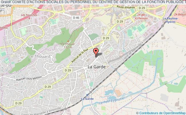 plan association Comite D'actions Sociales Du Personnel Du Centre De Gestion De La Fonction Publique Territoriale Du Var
