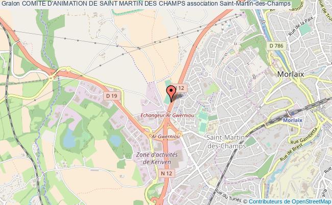 plan association Comite D'animation De Saint Martin Des Champs Saint-Martin-des-Champs