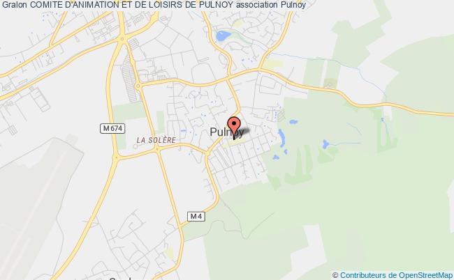 plan association Comite D'animation Et De Loisirs De Pulnoy Pulnoy