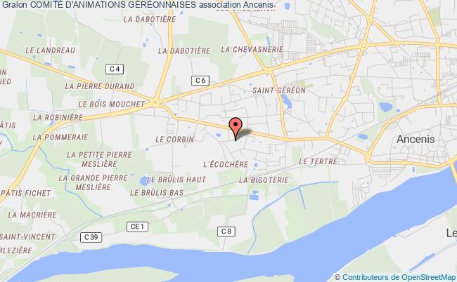 plan association ComitÉ D'animations GÉrÉonnaises