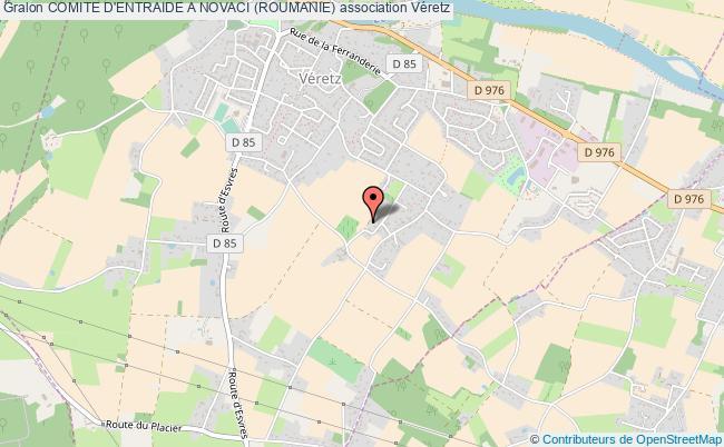 plan association Comite D'entraide A Novaci (roumanie)