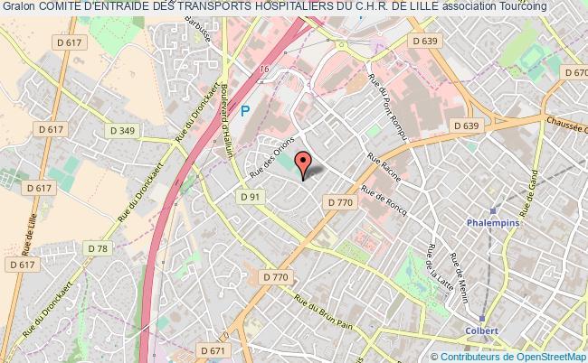 plan association Comite D'entraide Des Transports Hospitaliers Du C.h.r. De Lille Tourcoing