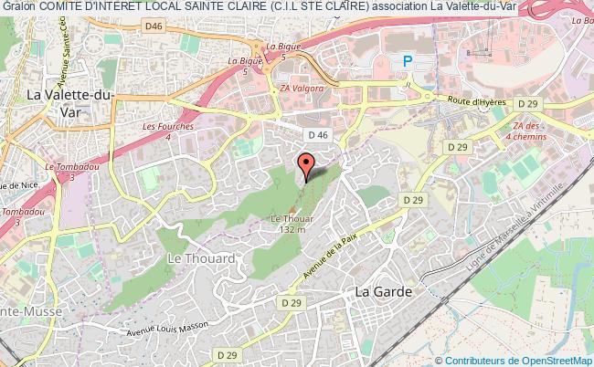 plan association Comite D'interet Local Sainte Claire (c.i.l Ste Claire)