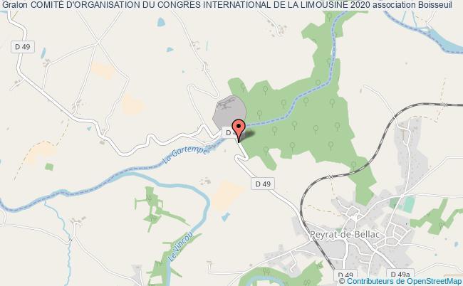plan association ComitÉ D'organisation Du Congres International De La Limousine 2020 Boisseuil