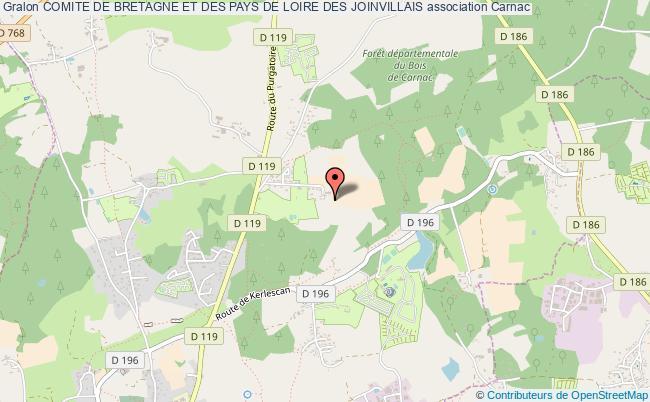 plan association Comite De Bretagne Et Des Pays De Loire Des Joinvillais