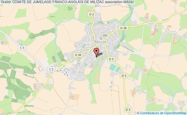 plan association Comite De Jumelage Franco-anglais De Milizac
