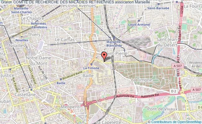 plan association Comite De Recherche Des Maladies Retiniennes