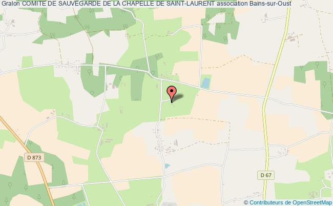 plan association Comite De Sauvegarde De La Chapelle De Saint-laurent