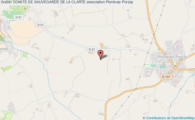 plan association Comite De Sauvegarde De La Clarte
