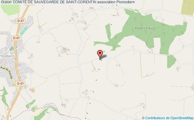 plan association Comite De Sauvegarde De Saint-corentin