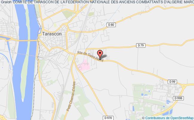 plan association Comite De Tarascon De La Federation Nationale Des Anciens Combattants D'algerie Maroc Tunisie