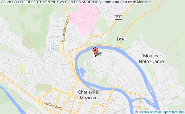 plan association Comite Departemental D'aviron Des Ardennes