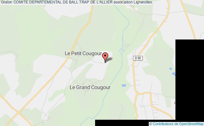 plan association Comite Departemental De Ball Trap De L'allier