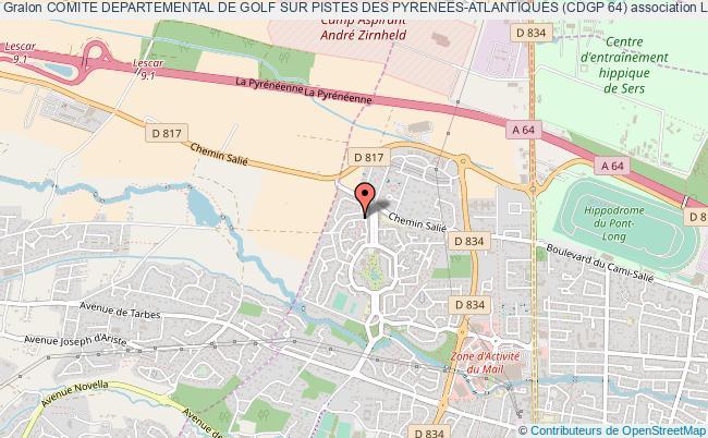 plan association Comite Departemental De Golf Sur Pistes Des Pyrenees-atlantiques (cdgp 64)