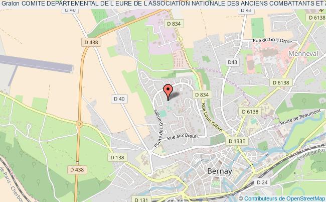plan association Comite Departemental De L Eure De L Association Nationale Des Anciens Combattants Et Ami(e)s De La Resistance