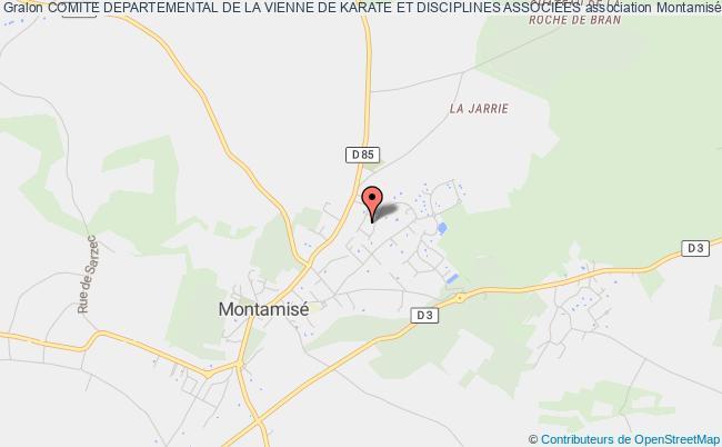 plan association Comite Departemental De La Vienne De Karate Et Disciplines Associees