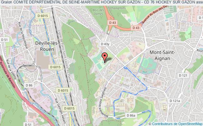 plan association ComitÉ DÉpartemental De Seine-maritime Hockey Sur Gazon - Cd 76 Hockey Sur Gazon Mont-Saint-Aignan