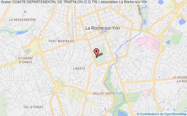 plan association Comite Departemental De Triathlon (c.d.tri.) La Roche-sur-Yon