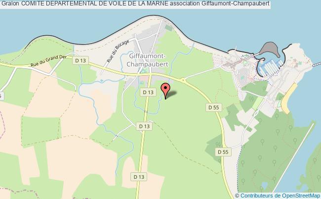 plan association Comite Departemental De Voile De La Marne