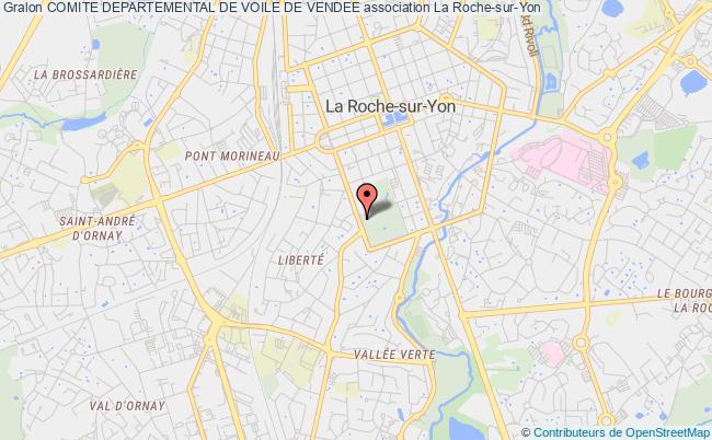 plan association Comite Departemental De Voile De Vendee La    Roche-sur-Yon