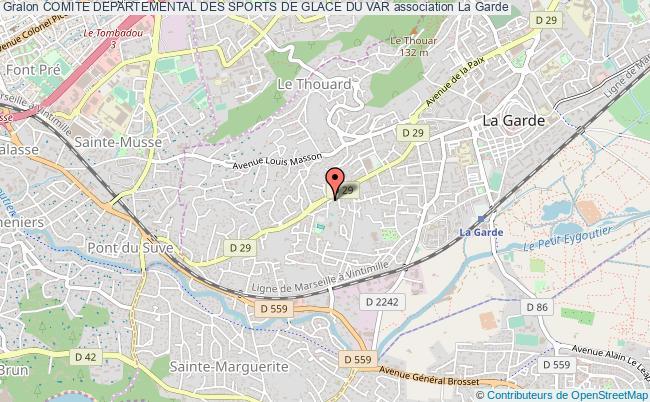 plan association Comite Departemental Des Sports De Glace Du Var