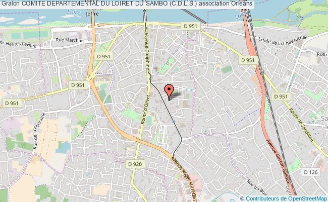 plan association Comite Departemental Du Loiret Du Sambo (c.d.l.s.)