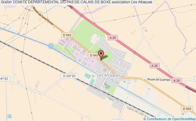 plan association Comite Departemental Du Pas De Calais De Boxe