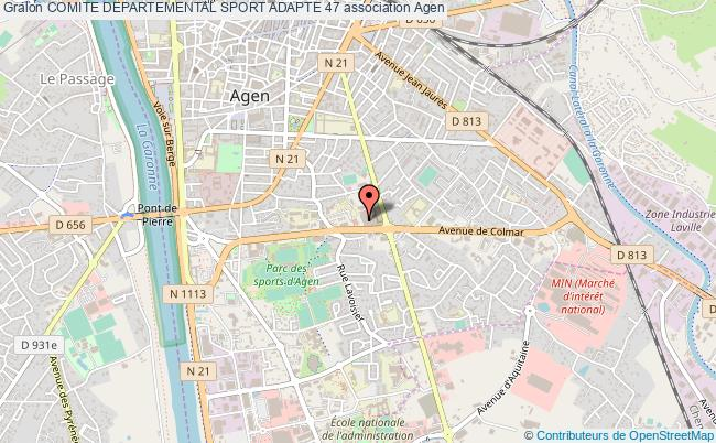 plan association Comite Departemental Sport Adapte 47