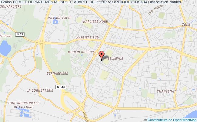 plan association Comite Departemental Sport Adapte De Loire Atlantique (cdsa 44)