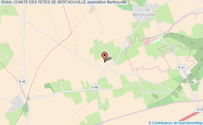 plan association Comite Des Fetes De Berthouville