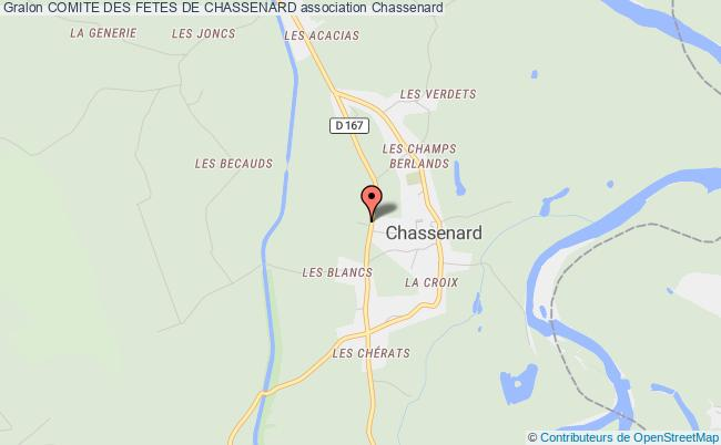 plan association Comite Des Fetes De Chassenard