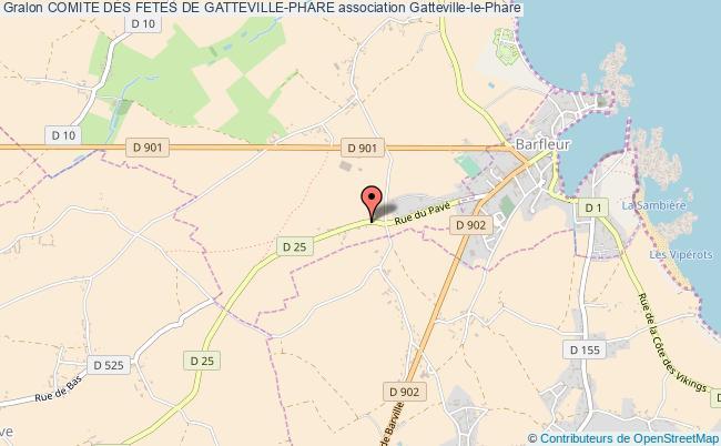 plan association Comite Des Fetes De Gatteville-phare Gatteville-le-Phare
