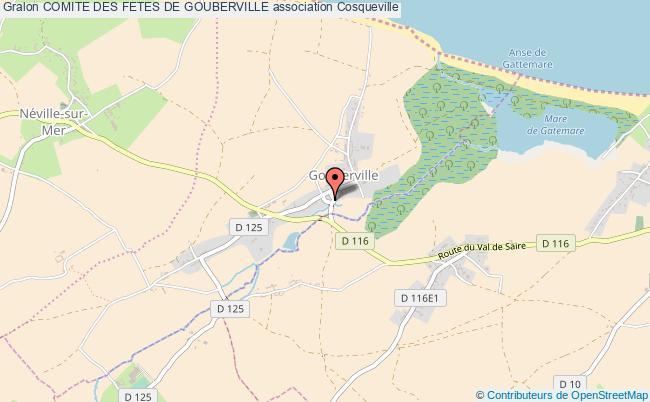 plan association Comite Des Fetes De Gouberville Gouberville