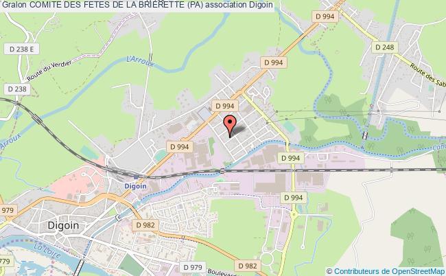 plan association Comite Des Fetes De La Brierette (pa)