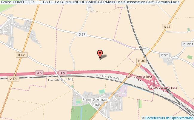 plan association Comite Des Fetes De La Commune De Saint-germain Laxis Saint-Germain-Laxis